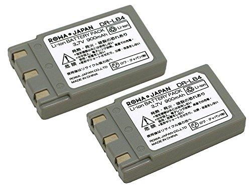 【実容量高】【残量表示対応】【2個セット】KONICA MINOLTA コニカ ミノルタ NP-500 NP-600 DR-LB4 互換 バッテリー【ロワジャパンPSEマーク付】