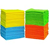 ALINK Microfiber Towel Cleaning Cloths 30x60 cm-Pack of 24 for Kitchen, Car, Furniture All Purpose Microfiber Cloths