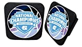 UNC Tar Heels 2017NCAAメンズNational Basketball Champsゴムトレーラーヒッチカバー