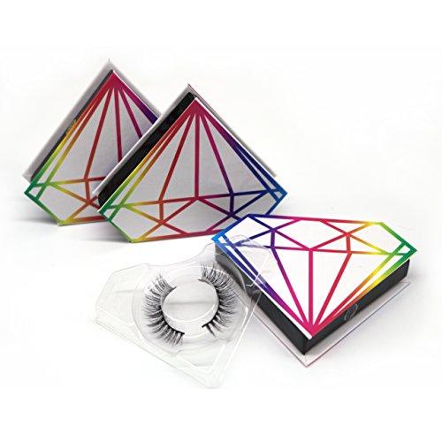 3D 高級ミンクつけまつげ  天然なミンク毛 自然な付けまつげ  ナチュラル 収納ケース付け  SA01
