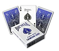 MetalLuxe Cobalt Bicycle Playing Cards