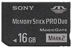 SONY メモリースティック Pro Duo Mark2 16GB MS-MT16G