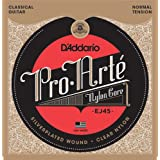 (Package Quantity of 1, Normal Tension) - D'Addario EJ45 Pro-Arte Nylon Classical Guitar Strings, Normal Tension