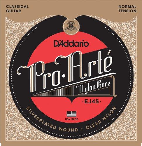 D'Addario『ProArte Silver/Clear Normal EJ45』