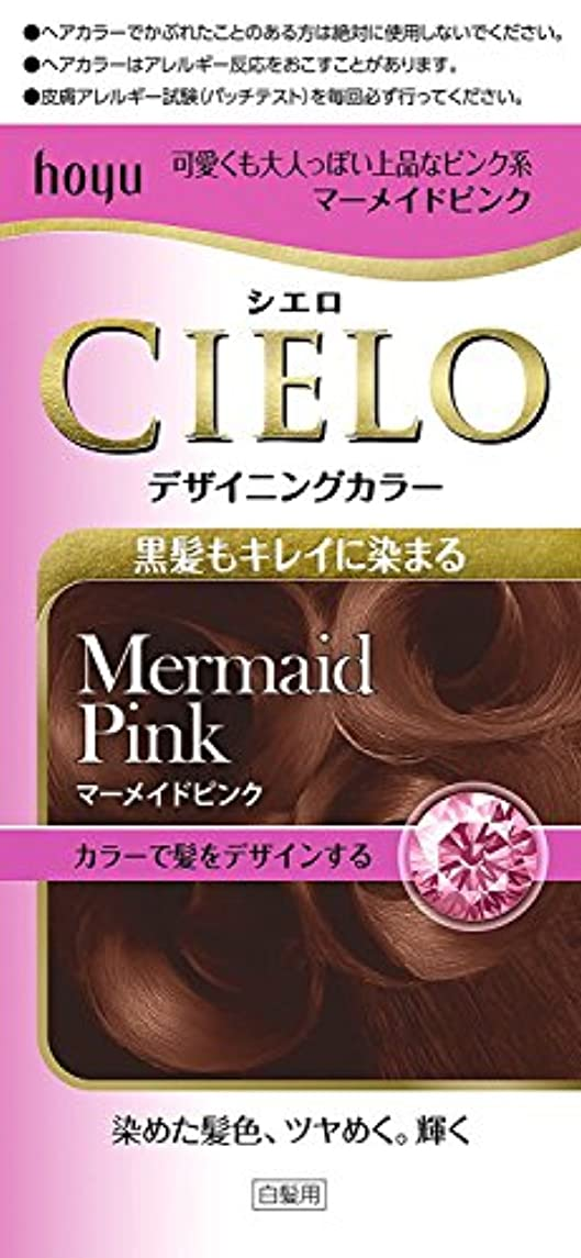ヤギ然とした例外ホーユー シエロ デザイニングカラー (マーメイドピンク)×6個