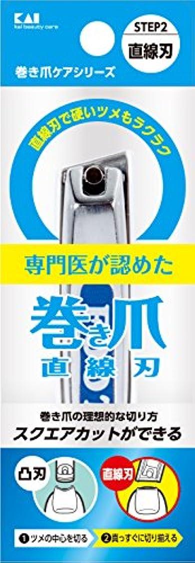 法医学煙メタリック巻き爪用直線刃ツメキリ KQ2034