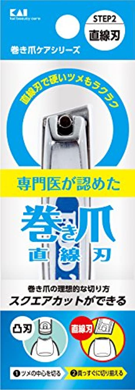 コンピューター平行仮説巻き爪用直線刃ツメキリ KQ2034