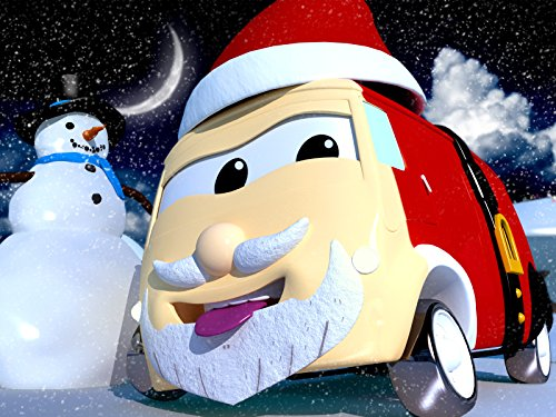 ピザ職人のカルロはサンタだ!& ロケットのロッキーは雪だるまだ!