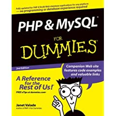 PHP and MySQL For Dummies (For Dummies (Computer/Tech))