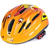 ICYCHEER Kids Child Safety Bike Bicycle Helmet Skate Board Scooter Sports Head Protective (orange)