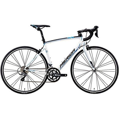 メリダ(MERIDA) ロードバイク RIDE 80 ホワイト/ブラック/プロセスブルー(EWKN) AMR008548 54cm