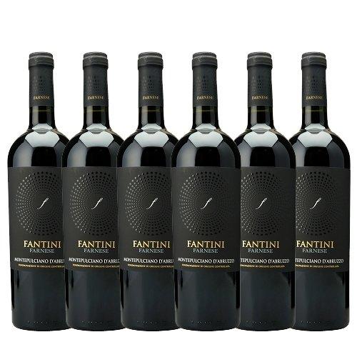 【6本ワインセット】 ファルネーゼ モンテプルチャーノ ダブルッツォ [2014] 750ml 赤ワイン ミディアムボディ