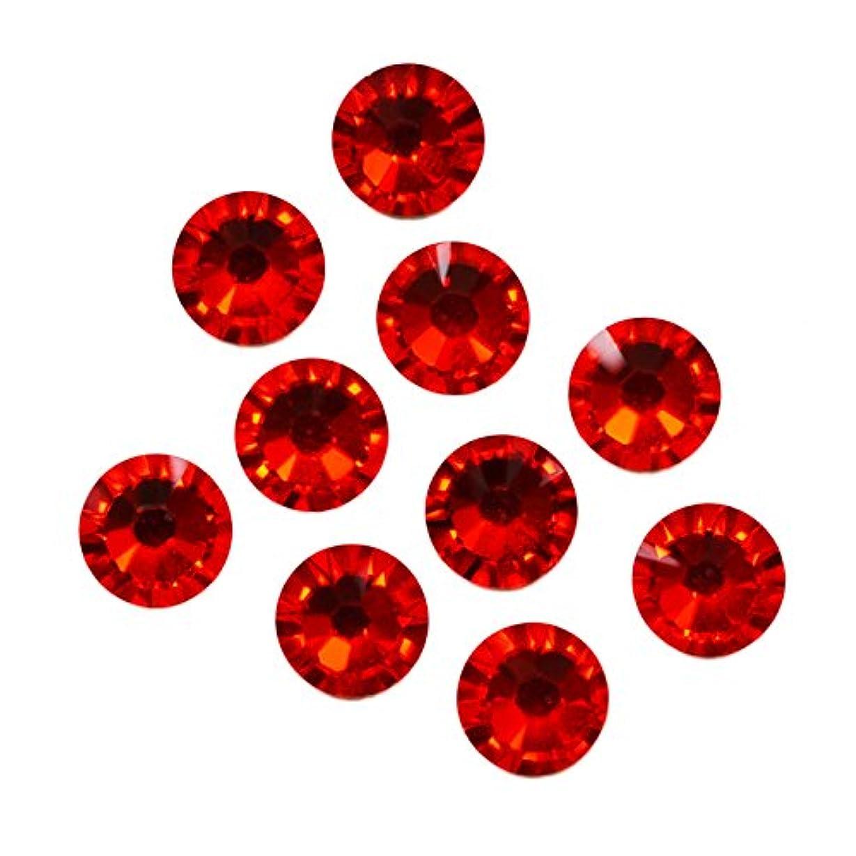 取り出すばかげた立方体スワロフスキーエレメント ライトシャム/フラットバック ノンホットフィックス (ss7/50粒)