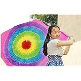 RainBowシルク製作 - サークル(1.6m x 1.65m) RainBow Silk Production -Circle (1.6m x1.65m) -- / シルク&ケインマジック