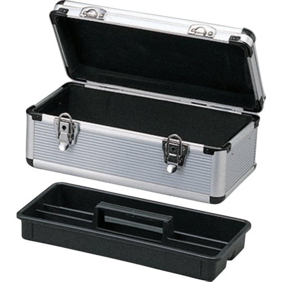 範囲主に自体アイリスオーヤマ アルミケース 工具収納ケース 工具箱 W約44×D約23.5×H約22cm AM-45T