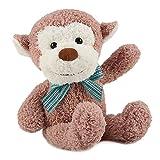 HWD 30cm 高 猿のぬいぐるみ 動物 おすわり シリーズ [やさしい手触り] 赤ちゃん お人形