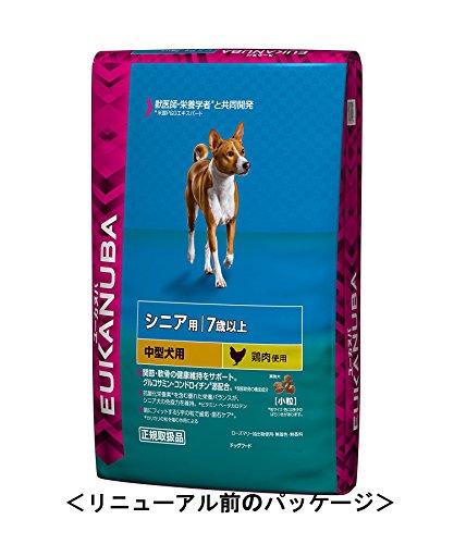 ユーカヌバ シニア用中型犬用7歳以上 7.5kg