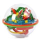 Milkee  教育玩具  3D立体知育玩具  ボール 智力 迷宮 迷路遊び 子供用 138関 知能 おもちゃ 空間認識 知育ゲーム バランスゲーム おもちゃ