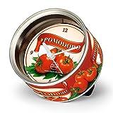 BRISA ブリサ MyClock Pomodoro マイクロック ポモドーロ 缶詰スタイルのデザインクロック、サプライズ ギフトに最適です! !  46319-1