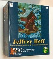 クリスマスカード550-pieceジグソーパズルジェフリー・Hoff