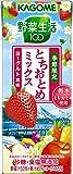 カゴメ 野菜生活100 とちおとめミックス~ヨーグルト風味~ 200ml×24本