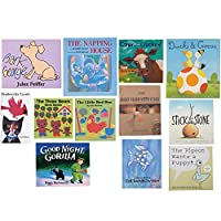 Constructive Playthings BOK-10 Classroom Essentials Complete Hardcover Story Books Grade: Kindergarten to 3 Set of 12 [並行輸入品]