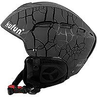 KUFUN ヘルメット スキー スノーボード 用 ダイヤルサイズ調節可 キッズ レディース スキー ヘルメット スノーボード用 スノー ヘルメット ヘッドプロテクター 男女兼用