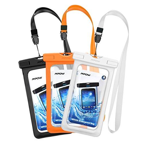 Mpow 防水ケース 3セット 携帯ケース スマホ防水ケース...