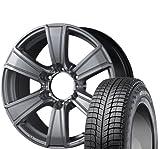 [195/80R15] MICHELIN / AGILIS X-ICE スタッドレス [2/-] [MID / ROADMAX MUD RANGER (HSL) 15インチ] スタッドレス&ホイール4本セット NV350キャラバン(E26系)/キャラバン(E25系)