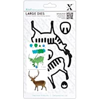xcut Decorative Dies, Large, Christmas in The Country Stag [並行輸入品]