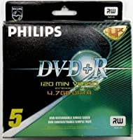 Philips Dvd+r Single Side Recordable DVD (5pack) [並行輸入品]