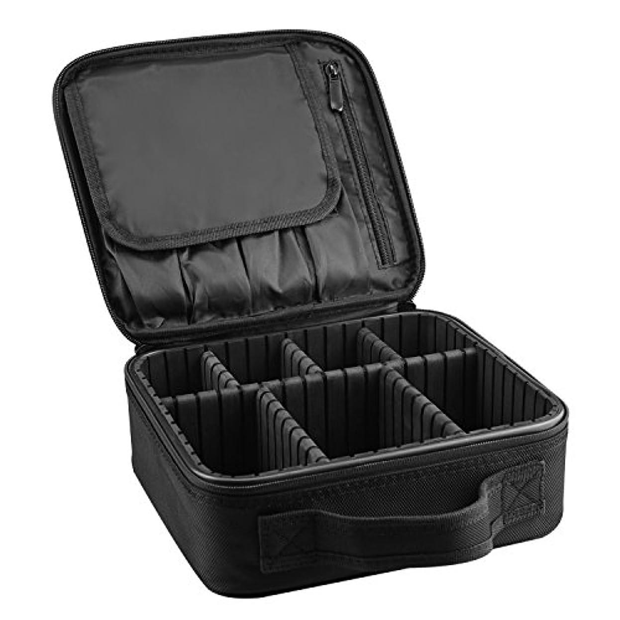 氷可塑性電気ArcEnCiel メイクボックス プロ用 メイクブラシ 化粧道具 小物収納 コスメボックス