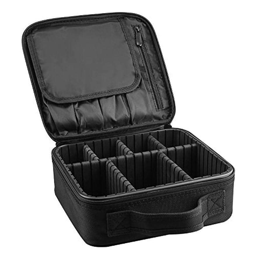 腰カウンターパート酸度ArcEnCiel メイクボックス プロ用 メイクブラシ 化粧道具 小物収納 コスメボックス