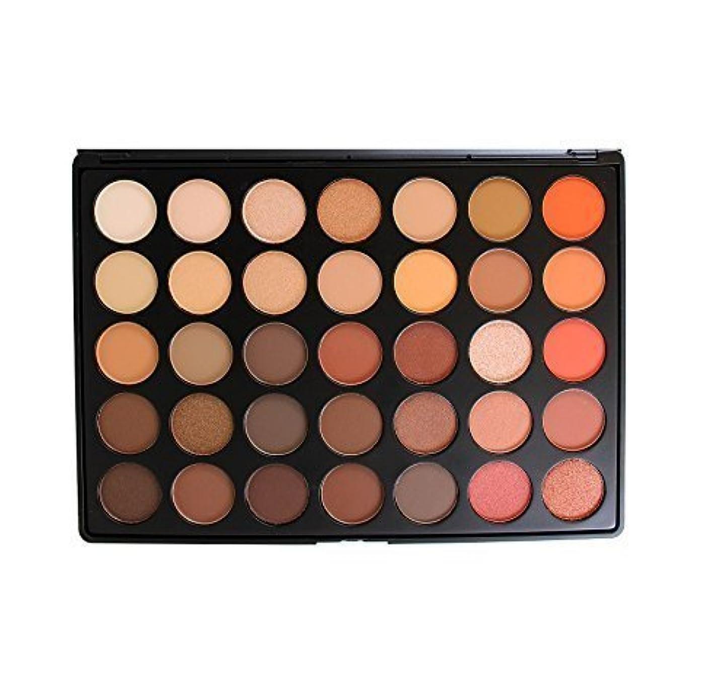 ブローくぼみ逆Morphe Brushes Palettes 35O Nature Glow Eyeshadow Palette [並行輸入品]