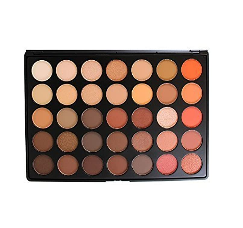 部分的に上記の頭と肩連邦Morphe Brushes Palettes 35O Nature Glow Eyeshadow Palette [並行輸入品]