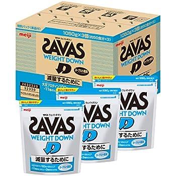 【Amazon.co.jp 限定】明治 SAVAS(ザバス) ウェイトダウン ヨーグルト風味【50食×3個パック】 3,150g (景品付き)