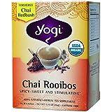 YOGI TEA Herbal Tea Bags Chai Rooibos 16 Tea Bags