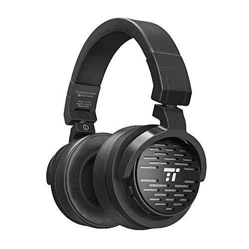 TaoTronics 密閉型 Bluetoothヘッドホン apt-x対応 大口径50mmドライバー搭載 25時間再生 折り畳み式 無線&有線ヘッドホン TT-BH030 (ブラック)