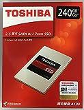 [TOSHIBA] 東芝 A100シリーズ SSD 2.5inch 240GB SATA 6Gbps (読込:550MB/s 書込:480MB/s) THN-S101Z2400C8