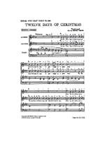 Twelve Days Of Christmas (2-Part/Piano) / クリスマスの12日 (2部/ピアノ)