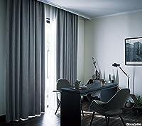 サンゲツ 見る角度によって表情が豊かに変わる底光りする生地 カーテン1.5倍ヒダ SC3183 幅:200cm ×丈:180cm (2枚組)オーダーカーテン