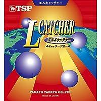 TSP 卓球 エルキャッチャー ラージボール用ラバー 020022 0040 赤 3 中 020022