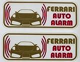フェラーリ 430 スクーデリア セキュリティ ステッカー fe008os - 580 円
