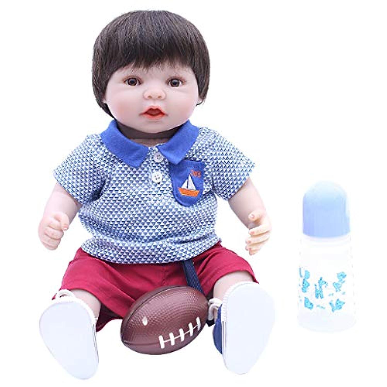 KESOTO コレクション 40cmリボーンドール トップス ズボン おしゃぶり 哺乳瓶 人形服スーツ