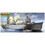 ピットロード スカイウェーブシリーズ 1/700 日本海軍 工作艦 明石 エッチングパーツ付き プラモデル W37E