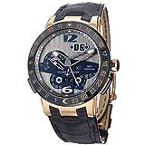 Ulysse Nardin El Toro 326-00 メンズ自動万年カレンダー腕時計 ローズゴールド
