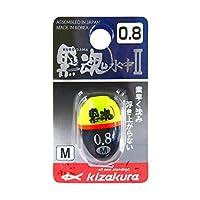 キザクラ(kizakura) ウキ 黒魂水中II M-0.8