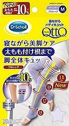 寝ながらメディキュット フルレッグ 太もも付根まで M (MediQtto Sleep Full Leg M)
