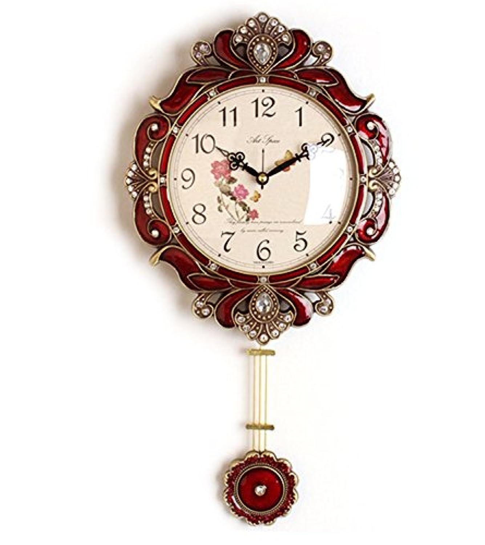 電波掛け時計 ビクトリーR 壁掛け時計 おしゃれ 電波時計 掛時計 北欧 時計 インテリア 振り子時計