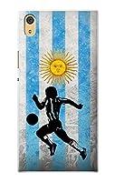 JP2977XAA アルゼンチンサッカー Argentina Football Soccer Flag Sony Xperia XA1 Ultra ケース